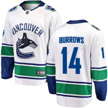 Alex Burrows Vancouver Canucks Fanatics Branded Youth Breakaway Away Jersey - White