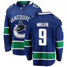 J.T. Miller Vancouver Canucks Fanatics Branded Men's Breakaway Home Jersey - Blue